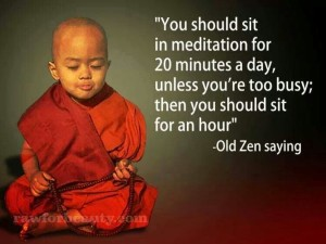 20 Minutes a Day of Quiet Time